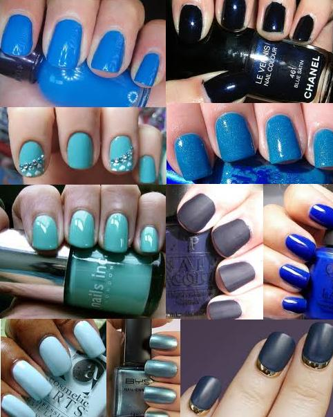 Beautiful Blue Nail Polish Shades