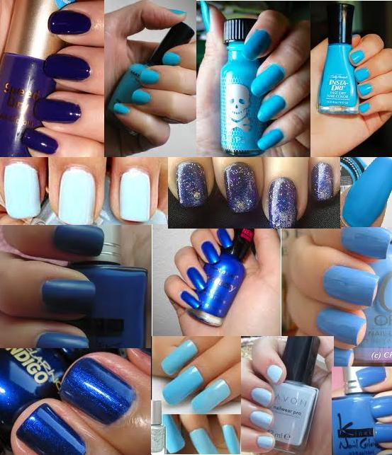 Blue Nail Polish Shades