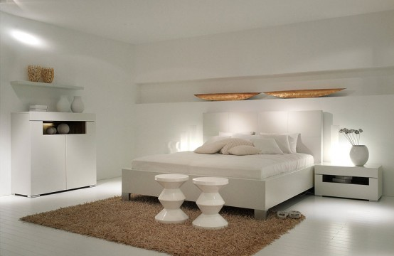 !~¤§¦ تجميعى¦§¤~! Modern-White-bedroom