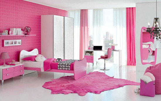 Pink Bedroom Ideas ~ Quarto Rosa Pink