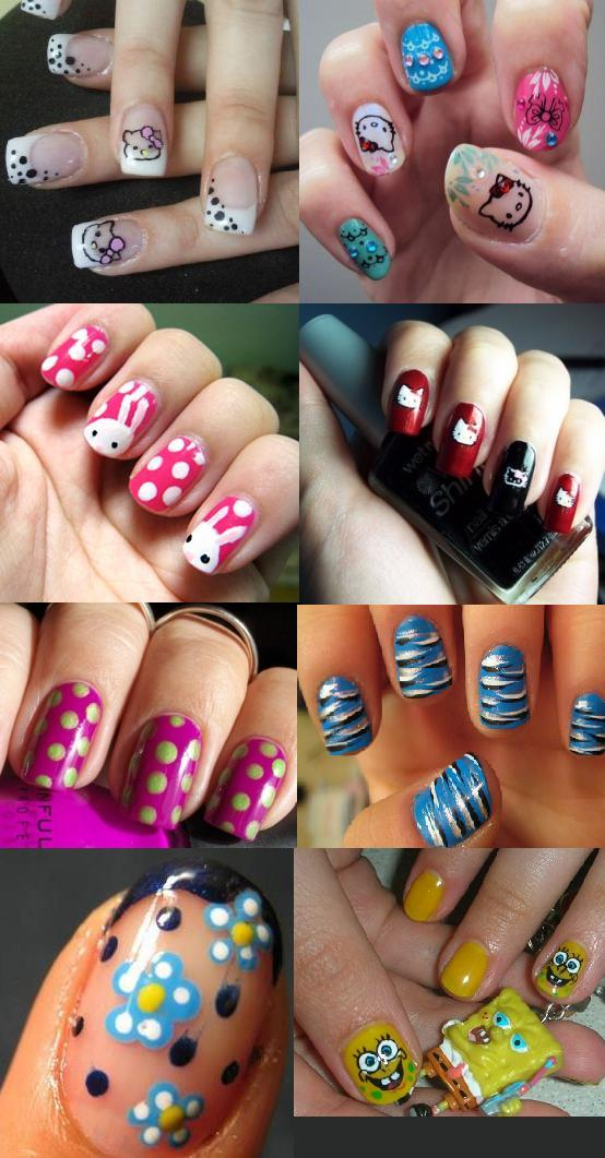 Nail Art Designs For Teenagers