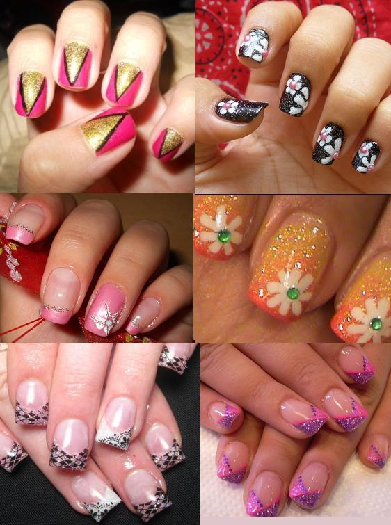 Nail Art for Teens http://ladies-trends.com/2011/07/04/funky-short-nail-art-for-2011/