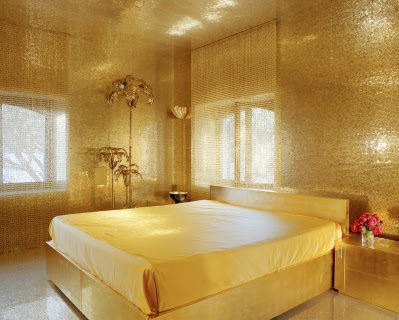 Golden bedroom decor ideas - Gold bedroom ideas ...