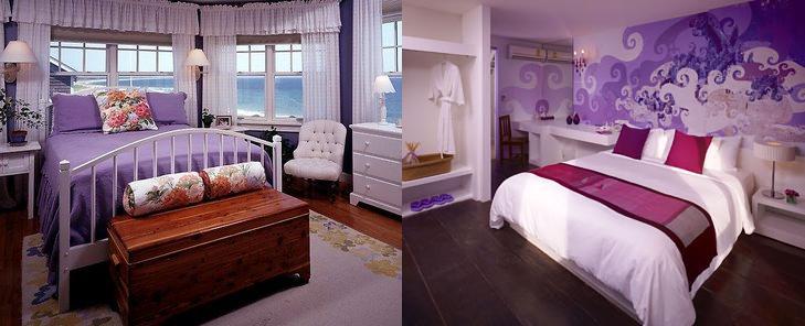 purple bedroom design on Purple Violet Bedroom Decor Ideas Ladies Trends    Gavehome Com
