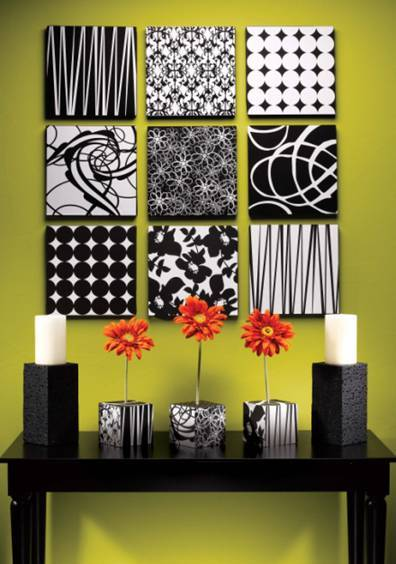 Fabric Wall Art And Decorative