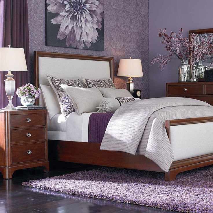 Purple Bedroom Ideas: Purple Bedroom Decor Ideas
