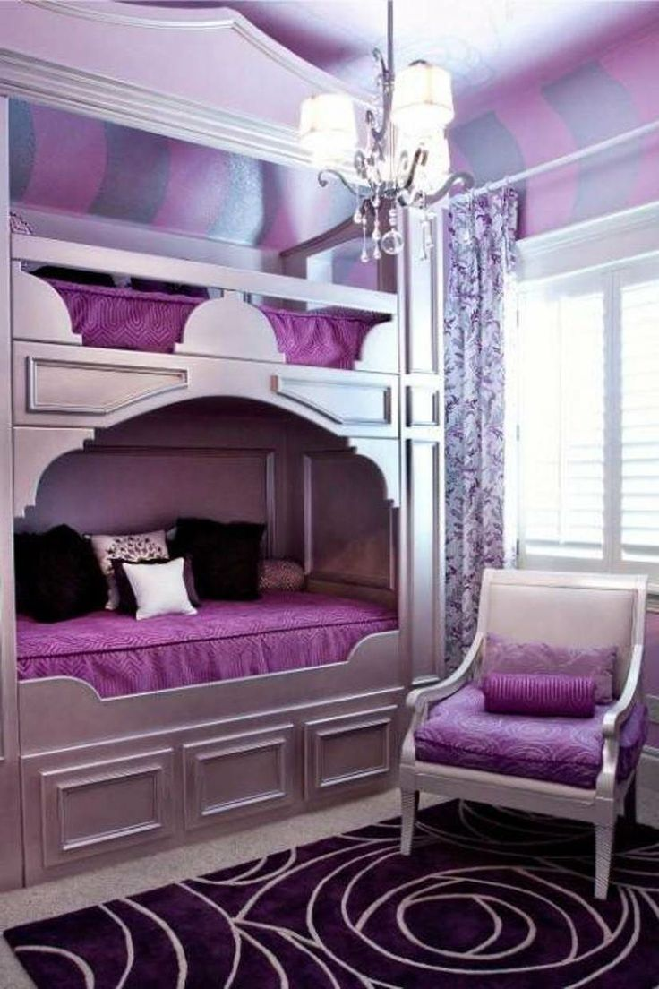 Violet Room Design: Purple Bedroom Decor Ideas