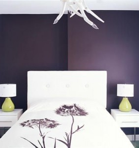 purple bedroom decor ideas