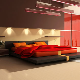 Beautiful Red Bedroom Decor Ideas August 2, 2011 Featured , Lifestyle