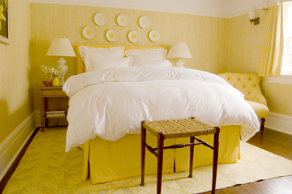 Yellow Bedroom Decor Ideas