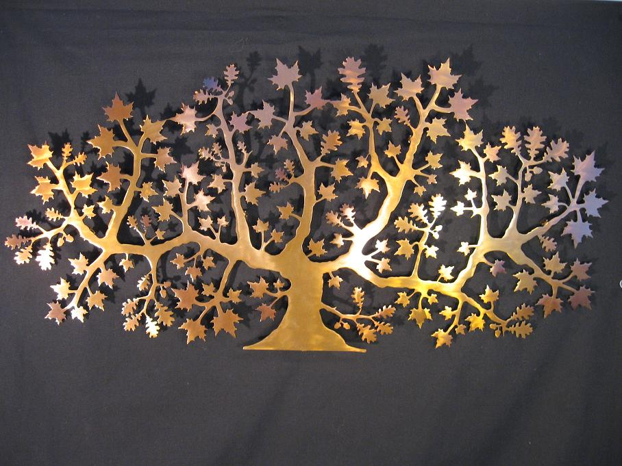 Moakle Maple & Oak Tree - 2D Wall art