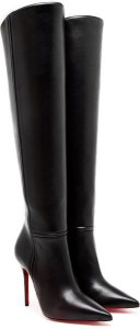louboutin armurabotta leather kneehigh boots