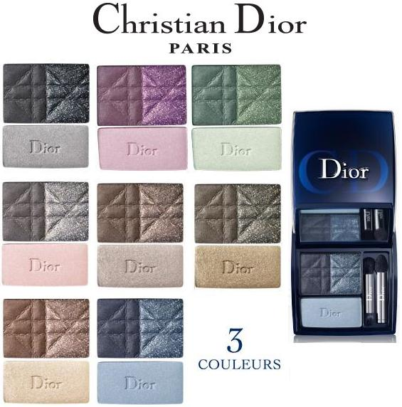 Christian Dior 3 couleurs Ready-to-wear smoky eyes palette