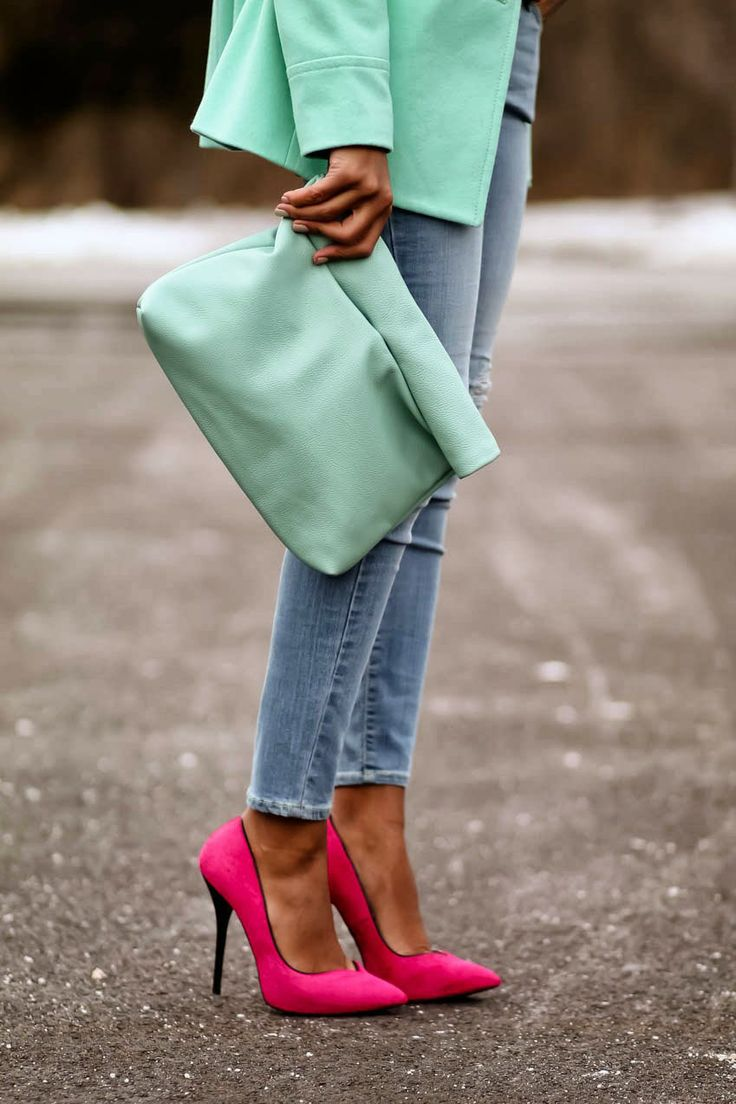 Monochrome Pastels for Spring