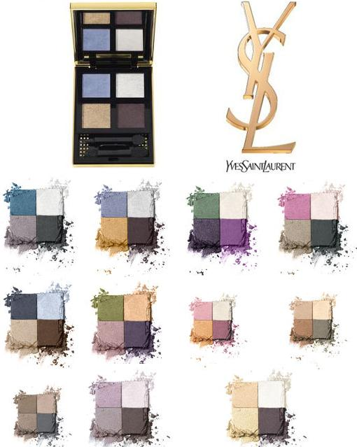 YSL SUMMER LOOK 2012 PURE CHROMATICS WET AND DRY EYE SHADOW