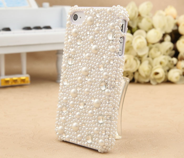 Pearl and Bling Cell Phone Cover