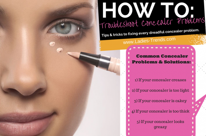 Troubleshooting Concealer Problems