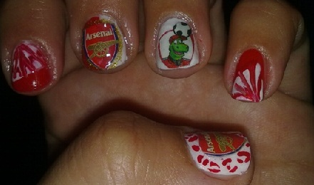 Index of wp contentuploads201302 arsenal fc nail artg prinsesfo Image collections