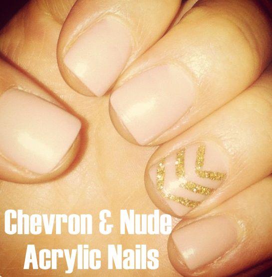 chevron&nude