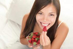 strawberries for whiter teeth