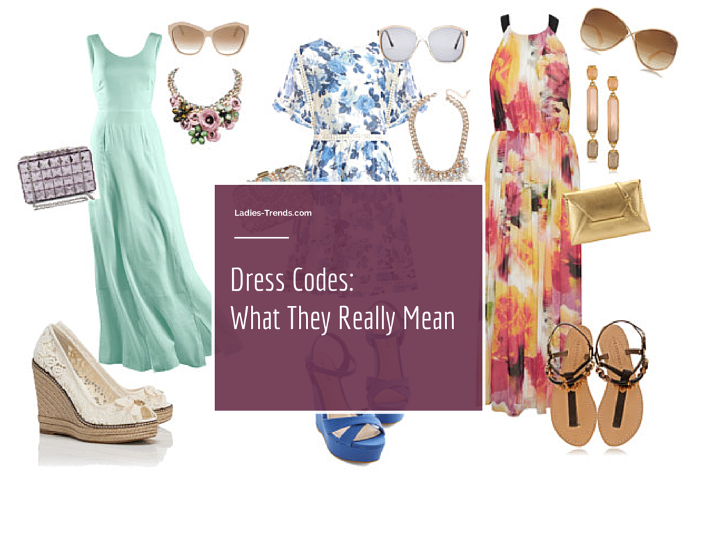 Dress Codes Decoded