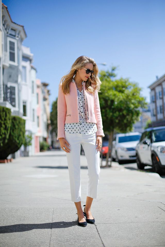 How to fashionably wear cropped pants