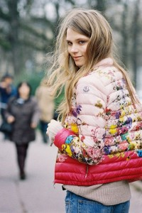 How to style a puffer coat with COLOR, PRINT AND PATTERN PLAY